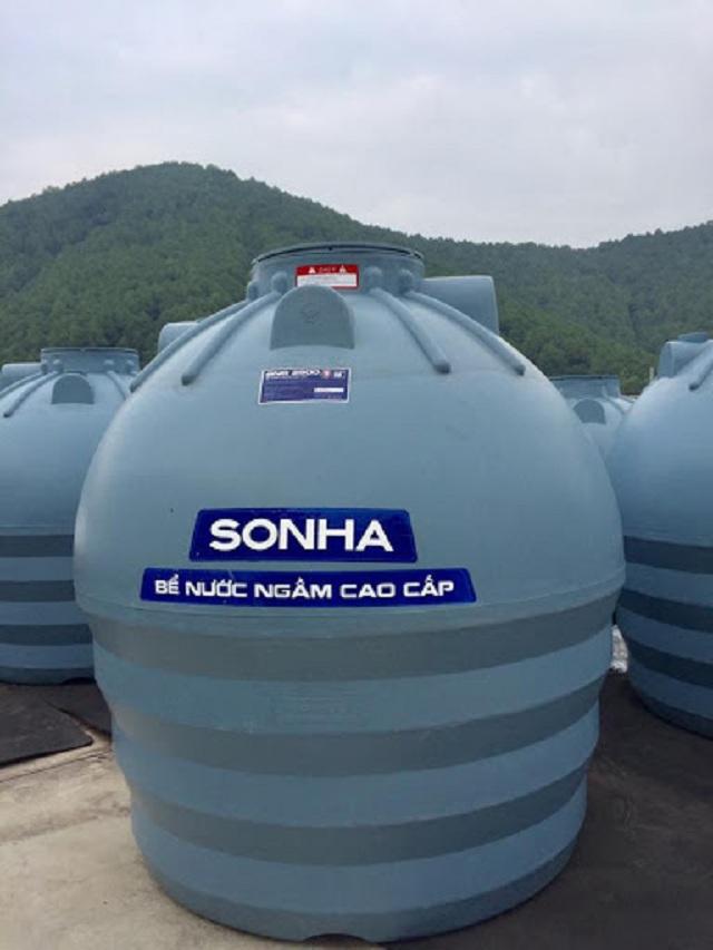 Những lợi ích khi sử dụng bồn nước âm dưới đất