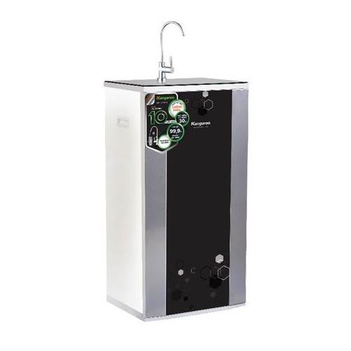 Máy lọc nước RO nước lợ model KG3500A vỏ tủ VTU Black hoa lục giác