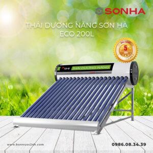 Máy nước nóng năng lượng mặt trời Sơn Hà ECO 200L