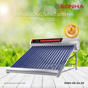 Máy nước nóng năng lượng mặt trời Sơn Hà Titan 200L