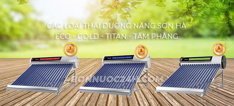 Máy nước nóng năng lượng mặt trời Sơn Hà có mấy loại?