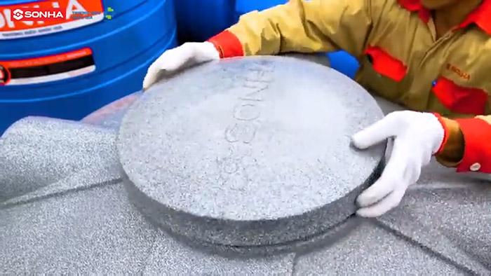 Cách lắp đặt bồn nhựa Sơn Hà - B1